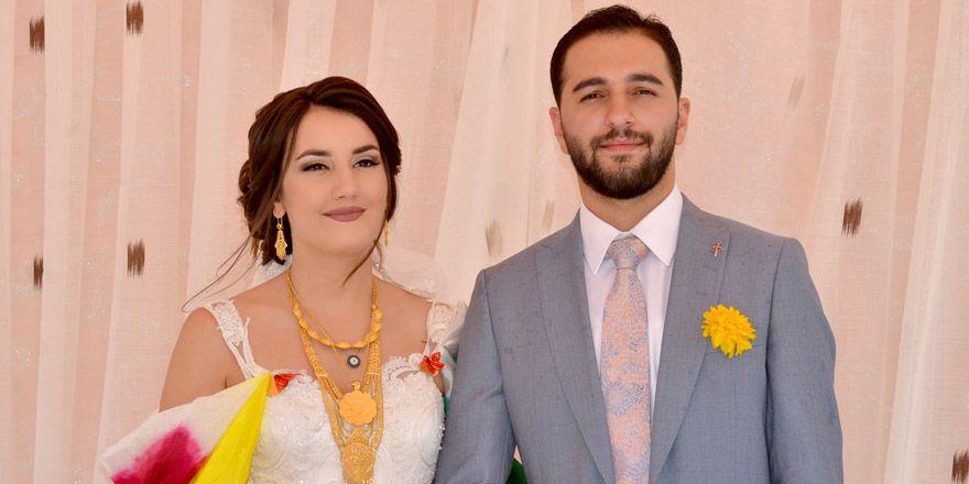 Yüksekova'ya gelen Fransız geline görkemli düğün!