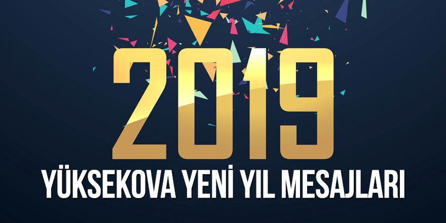 Yüksekova yeni yıl mesajları - 2019