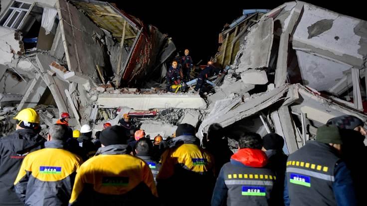 Deprem bölgesinden fotoğraflar 1