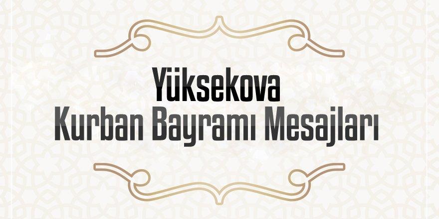 Yüksekova Kurban Bayramı Mesajları - 2020
