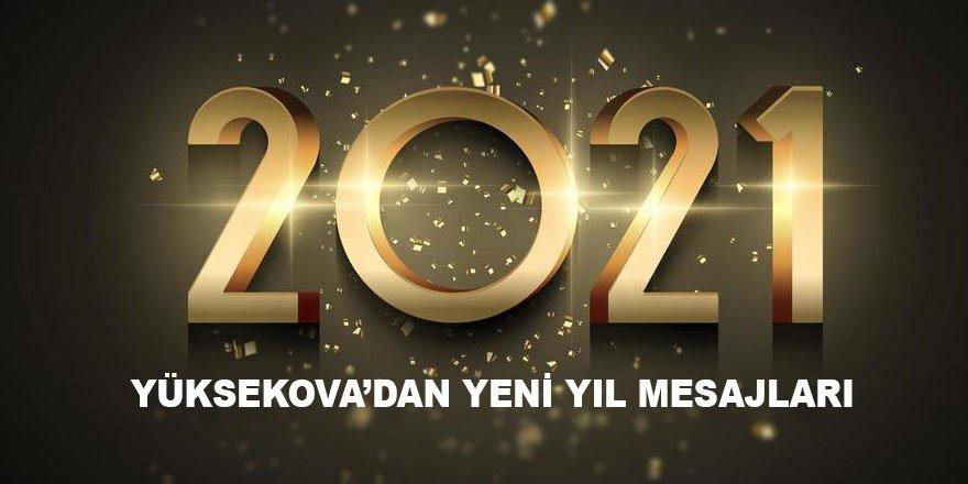 Yüksekova yeni yıl mesajları - 2021