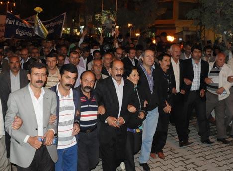 Yüksekova'da 'Werin Rê' yürüyüşü 9