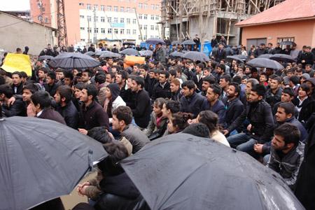 Yüksekova'de 'şifre' protestosu 10