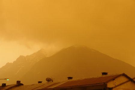 Hakkari ve Şırnak'ta toz bulutu 20