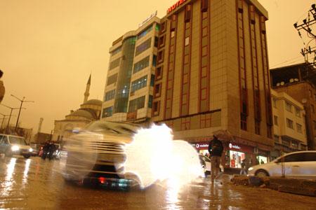 Hakkari ve Şırnak'ta toz bulutu 30