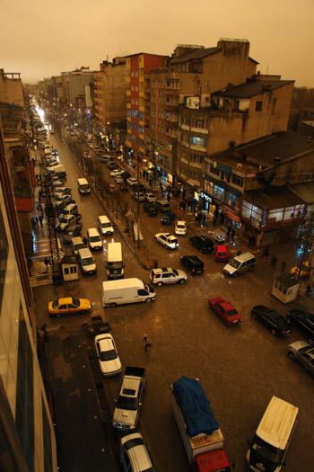 Hakkari ve Şırnak'ta toz bulutu 7