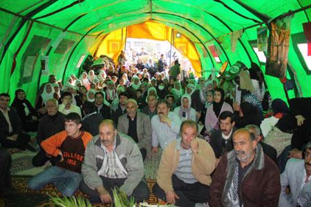 'Çözüm çadırı' etkinlikleri sürüyor 40