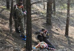Ormanda kadın cesedi bulundu