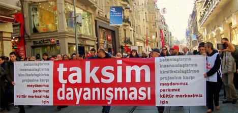 Taksim Dayanışması: 31 Mayıs'ta Meydandayız