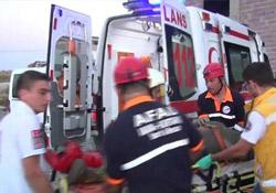 Maden işçileri kaza yaptı: 21 yaralı