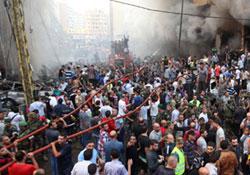 Beyrut'ta intihar saldırısı: 19 yaralı