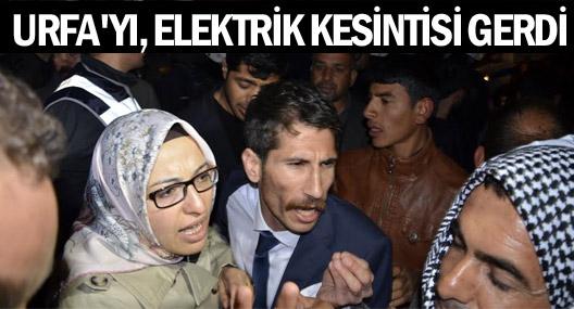 Urfa'da elektrik kesintisi kenti gerdi