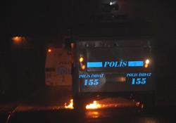 Adana'da gergin gece