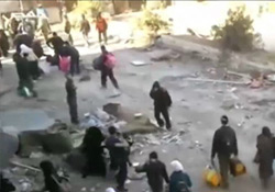 Humus'ta saldırı: 34 ölü