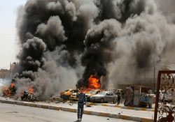 Şii camisine saldırı: 20 Ölü