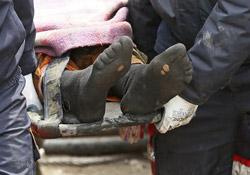 Günün karesi: Madencinin delik çorapları