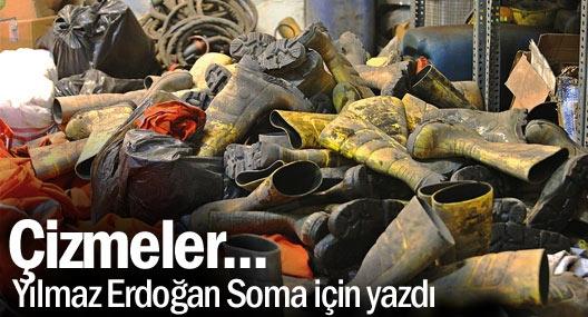 Yılmaz Erdoğan'dan Soma şiiri: Çizmeler