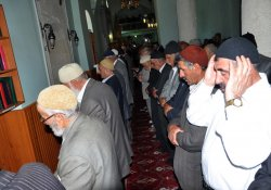 Muş'ta Gıyabi Cenaze Namazı Kılındı