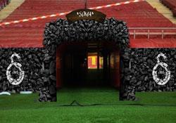 Çıkış tüneli kömür karası!