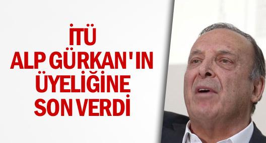 İTÜ'den Alp Gürkan hakkında flaş karar
