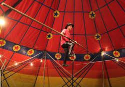 Hakkari'de Sirk gösterisi hazırlıkları