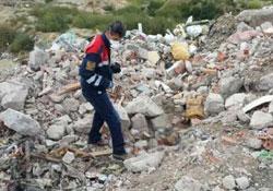 Tekirdağ'da çöplükte bebek bulundu