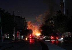 Gazi Mahallesi'nde gergin gece