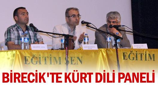 Birecikte Kürt Dili paneli