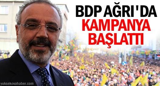 BDP Ağrı'da göç eden seçmenler için kampanya başlattı