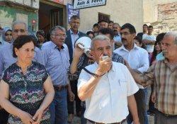 Adıyaman'da Barzani'ye Tepki