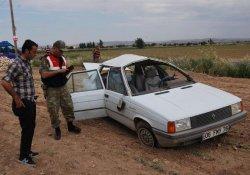 Urfa'da Otomobil Devrildi: 1 Ölü, 5 Yaralı