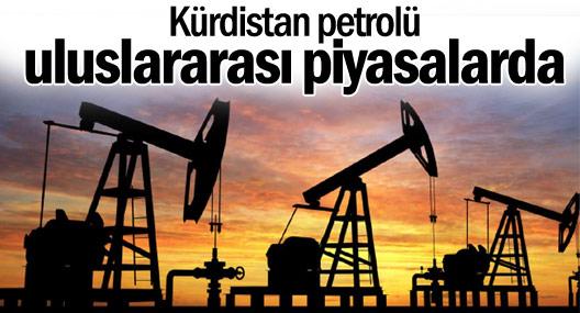Kürdistan petrolü uluslararası piyasalarda