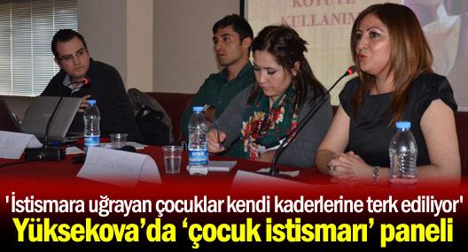 Yüksekova'da 'Çocuk İstismarı' paneli