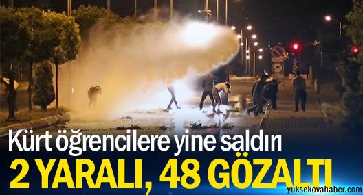 Erciyes Üniversitesi'nde Kürt öğrencilere ırkçı saldırı