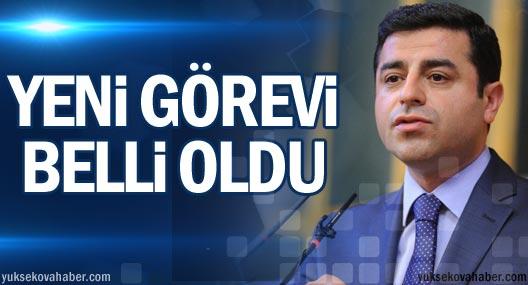 Selahattin Demirtaş ve Sırrı Süreyya Önder'in yeni görevleri belli oldu