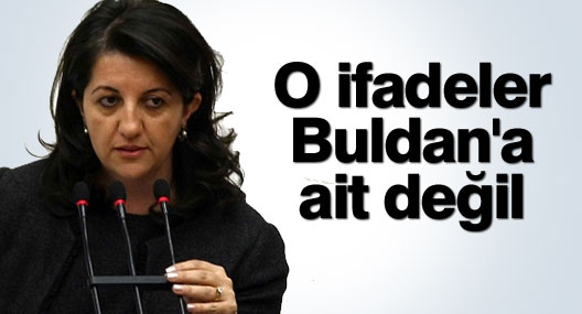 HDP: Oradaki ifadeler Buldan'a ait değil