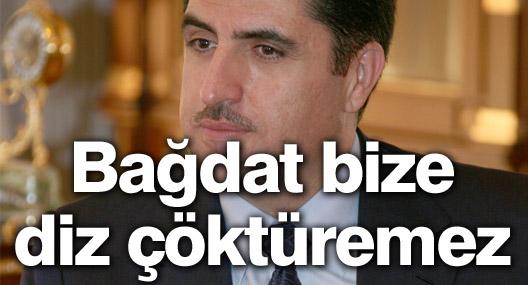 Barzani: Petrol sevkiyatında, Bağdat bize diz çöktüremez