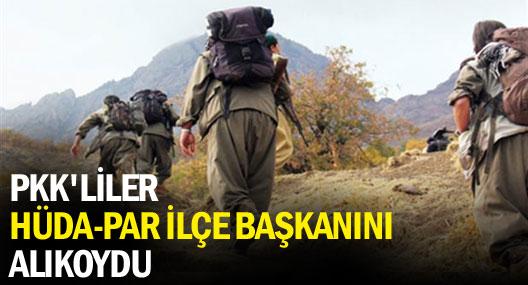 Diyarbakır'da Hüda-par İlçe Başkanı alıkonuldu