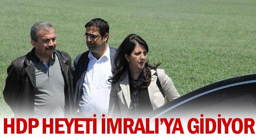 HDP heyeti Pazar günü Öcalan ile görüşecek