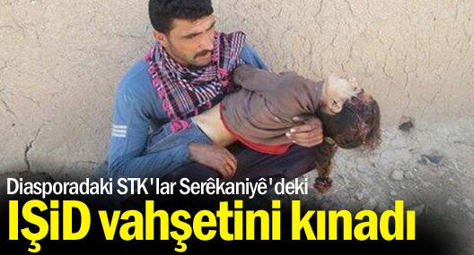 Diasporadaki STK'lar Serêkaniyê'deki IŞİD vahşetini kınadı
