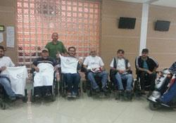 Mahkemede engelli dayanışması