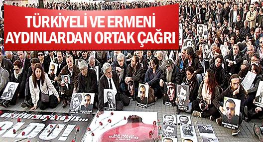 Türkiyeli ve Ermeni çok sayıda isim: Ortak bir rüyamız olsun