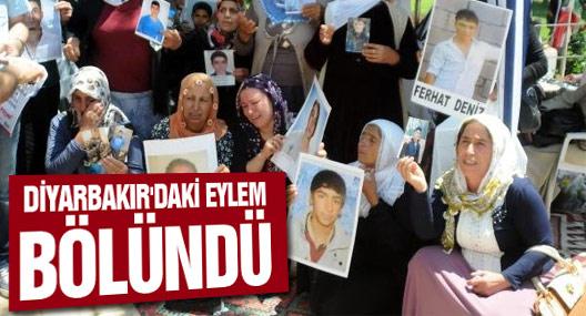 Ailelerin Diyarbakır'daki Eylemi Bölündü