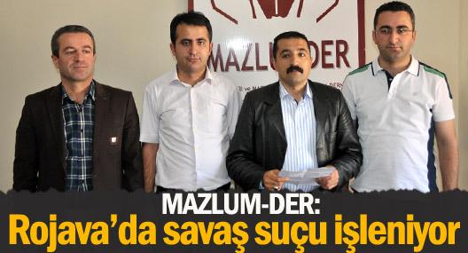 Mazlum-Der Rojava'daki katliamı ve idamları kınadı