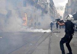 Galatasaray'da Polis Müdahalesi