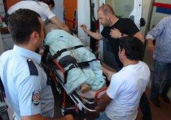 Hilvan'da Polis Aracı Devrildi: 2 Yaralı