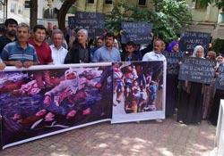 Rojava Katliamlarına Tepki