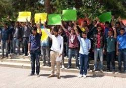 Burdur'da katliam kınaması