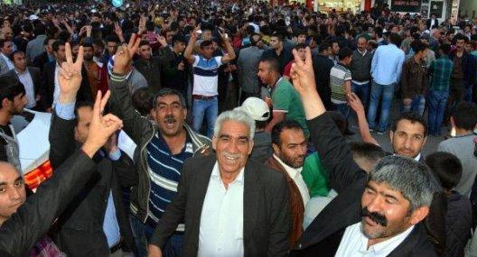 Ağrı'da Seçimi BDP Kazandı, Kutlamalar Başladı