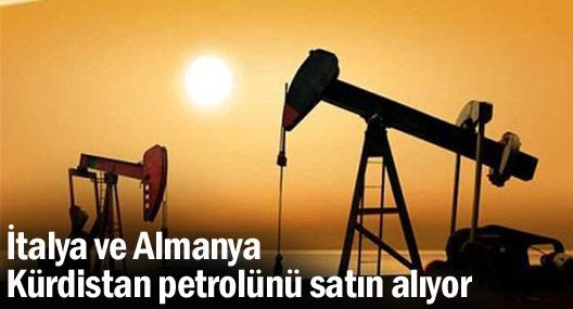 İtalya ve Almanya Kürdistan petrolünü satın alıyor